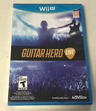Nintendo Wii U Guitar Hero Live Game Only