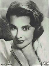 Cyd Charisse American Actress Vintage portrait Photograph 9 x 7