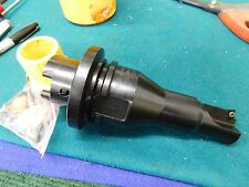 "Sandvik HSK 63-C 1.450"" Core Bore Drill with Chanmfer Insert"