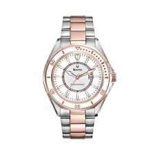 Bulova  98M113 Precisionist Winter Park Two Tone S.S Women's-Wirstwatch