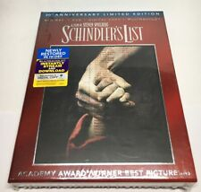 Schindler's List (1993) 20th Anniversary 3-Disc Blu-ray + DVD + DIGITAL COPY UV