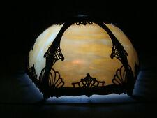 Antique Art Nouveau Original Tiffany Style Lamp Shade. One cracked glued panel.