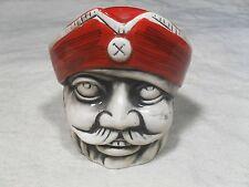 Decorative ~ Pirate Head/Face Bank w/ Pirate Hat (#3)