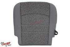 2013 2014 2015 2016 Dodge Ram 1500 SLT -Driver Side Bottom Cloth Seat Cover Gray
