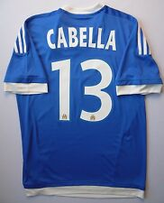 5+/5 Olympique Marseille #13 Cabella 2016 Football Jersey Shirt Adidas S11876
