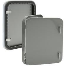 ACCESS DOOR: 12″ X 16″ VENTLOK STAMPED INSULATED ACCESS DOOR, Grey/Gray color