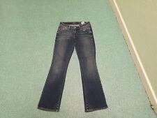 """Levi's Demi Curve Bootcut Jeans Taille 26"""" Jambe 30"""" Délavé Bleu Foncé Femme Jeans"""