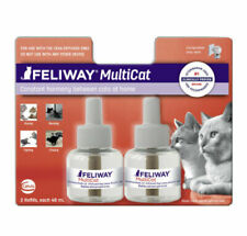 New listing Feliway MultiCat Diffuser Refill 48 ml Twin Pack Calming Between Cats