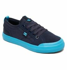 Tg 32 - Scarpe Bimbo Bambino DC Shoes Evan Navy Bright Blue Sneakers Schuhe 2019