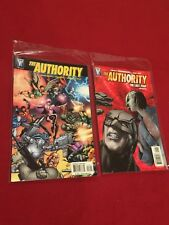 The Authority The Lost Year Reader and #18 Lot of 2 Comic Books Wildstorm Comics