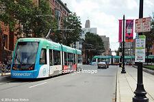 Original Photograph: Cincinnati Streetcars 1177, 1176 @ Race/12th Street