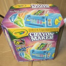 Crayola Crayon Maker-Melt & Recycle Your Crayons /Create New Color Swirl Crayons