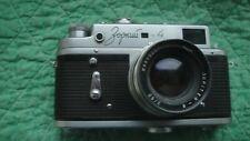 Zorki-4 Vintage USSR Rangefinder Camera and Jupiter-8 lens.