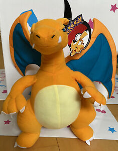 "Pokemon 16"" inch Charizard Stuffed Plush New with tags. Authentic By Toy Factory"