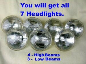 Guide T3 Headlights 1968-1971 GM Buick Oldsmobile Cadillac Pontiac Chevrolet Lot