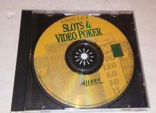 Hoyle Slots & Video Poker - PC CD-ROM 2000 Sierra On-Line Inc.