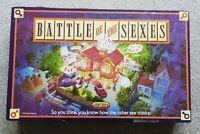 Battle of the Sexes Game 1990 Vintage Board Game By Spears Games 100% Complete