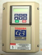 Tosvert-130 3-Phase Input/7.5Hp Output/460V:in/out Transistor Inverter p/n 130G3