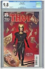 Thor 10 CGC 9.8 1st First Print Edition Olivier Coipel Cover LGY 736 Prey Part 2