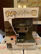 Funko Pop! Harry Potter Ron Weasley wearing Sorting Hat