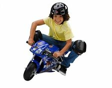 Razor Pocket Rocket 24V Mini Bike Electric Motorcycle - Blue (Open Box)