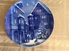 Berlin Design 1970 Christmas Plate ( Christmas In Bernkastel )