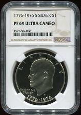 1776-1976 S SILVER $1 PF 69 ULTRA CAMEO NGC USA coin