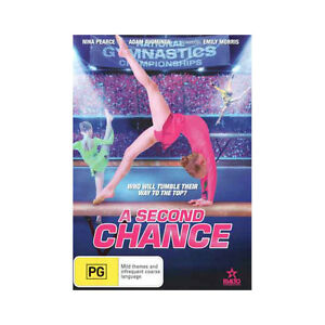 A Second Chance   DVD Brand New Region 4 Aust. - Australian WAG Gymnastics Movie