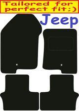 Jeep Patriot a medida Alfombrillas De Coche De Calidad De Lujo 2007-2011