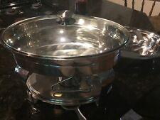 Tramontina Buffet Warmer, Stainless Steel, Food Pan Set