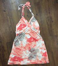 Tommy Bahama Women's Sz XL Floral Multi Knit Halter Shift Sundress Dress