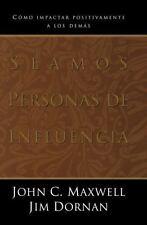 SEAMOS PERSONAS DE INFLUENCIA - NEW PAPERBACK BOOK