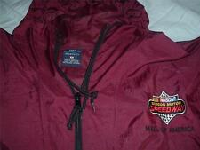 NASCAR Silicon Motor Speedway Windbreaker Jacket Maroon Adult XL Port Authority