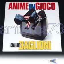 """CLAUDIO BAGLIONI """"ANIME IN GIOCO"""" RARO DOPPIO LP 1997"""