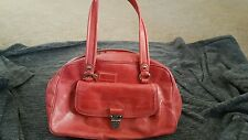 Coach Coral Leather Poppy Purse