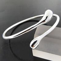 Bangle Bracelet Real 925 Sterling Silver S/F Solid Ladies Bespoke Design