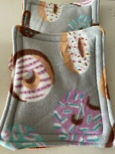 guinea pig pee. Bed Inserts  2 in pak    bargain Doughnut 🍩 Design