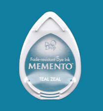 Stempelkissen Tinte Ink Memento DewDrop teal zeal türkis Mini MD602