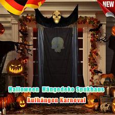 Halloween Deko Grusel-Figur Aufhängen Skull Horror Geist Hängende Kostüm Party
