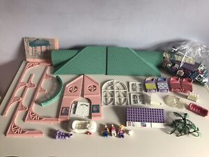 Vtg 1993 Mega Bloks #9401 Fantasy DREAM HOME House Playset REPLACEMENT PARTS LOT