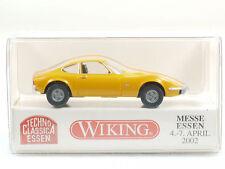 Wiking 804 02 Opel GT orange Techno Classica Essen 2002 OVP 1410-25-69