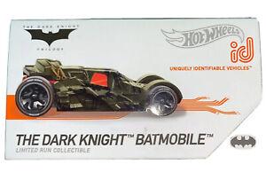 Special Hot Wheels id Batman Car Collectors Edition