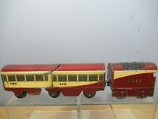 """VINTAGE HORNBY """"0"""" GAUGE MODEL No.""""O """" 3917 STREAM LINE TRAIN   """"WITHOUT LOCO"""""""
