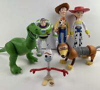 Disney Mattel Toy Story Large Poseable Figure Lot - Buzz Woody Jessie Rex & More