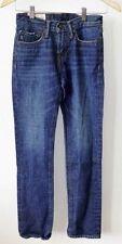 Abercrombie & Fitch Kids The A&F Skinny Dark Wash Blue Denim Jeans Boys 12 Slim