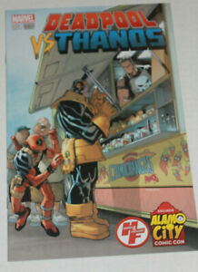 Deadpool vs Thanos 1 ALAMO CITY EXCLUSIVE Humberto Ramos Variant NM RARE!!