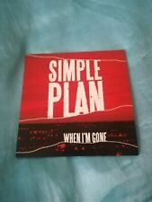 Simple Plan - When I'm Gone - 1 Track CD Single