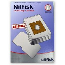 2 BOXES OF NILFISK VACUUM CLEANER BAGS, NILFISK ACTION A300 GENUINE+FILTER