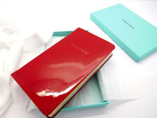 Tiffany Red Patent Leather Love Notes Journal Notebook