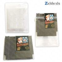 Box Protector NES Nintendo Cart Cartridge Game Custom Made Clear Plastic Case